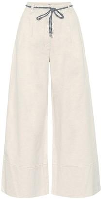 Baum und Pferdgarten Nour cotton and linen wide-leg pants