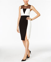 ECI Compression Colorblocked Sheath Dress