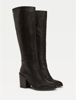 Tommy Hilfiger Leather Long Boot