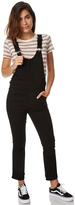 Cheap Monday Womens Drift Dungaree Cropped Flare Black