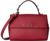 Calvin Klein Gifting Saffiano Mini Flap Crossbody