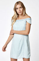 Obey Skylar Off-The-Shoulder Dress