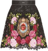 Dolce & Gabbana Lace Mini Skirt