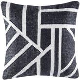 Kas Splice Black Square Cushion Cover