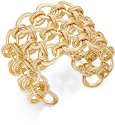 Thalia Sodi Gold-Tone Chain Link Cuff Bracelet, Only at Macy's