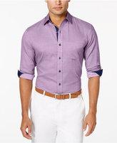 Tasso Elba Men's Texture Long-Sleeve Shirt