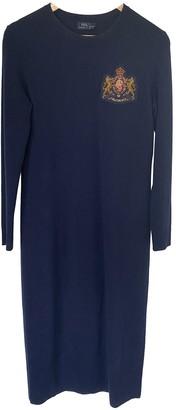 Polo Ralph Lauren Blue Wool Dresses