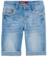 Arizona Denim Bermuda Shorts - Big Kid Girls Plus