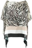 Wallis ANIMAL STRIPE Tunic neutral
