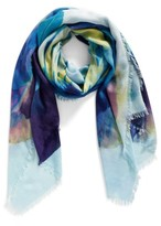 Nordstrom Women's Solar Floral Cashmere & Silk Scarf
