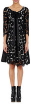Marc Jacobs Women's Bow-Embellished Lace Dress-BLACK