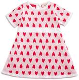 Armani Junior Girls' Intarsia Heart Sweater Dress - Baby
