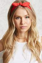 Forever 21 Crepe Bow Headwrap