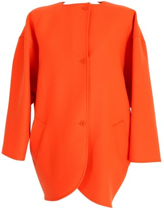 Ungaro Orange Wool Coats