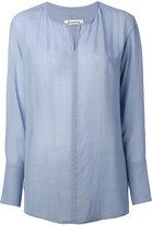 Dondup Avigail long sleeve shirt - women - Viscose - 38