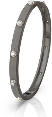Buccellati Macri Classica 18k White Gold Diamond Bangle