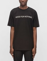 Black Scale Good For Nothing S/S T-Shirt