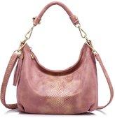 Realer New Brand Woen Handbag Hobos Purse Snakeskin Sall Corssbody Bag