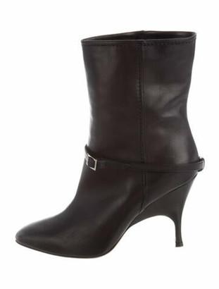 Alchimia di Ballin Leather Boots Black