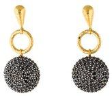 Gurhan Black Diamond Lentil Drop Earrings
