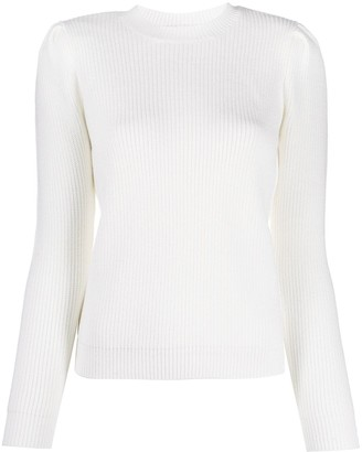 Elisabetta Franchi Scoop Neck Jumper