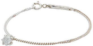 Pearls Before Swine Silver Raw Diamond Bracelet