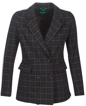 Benetton SUDIDEL women's Coat in Black