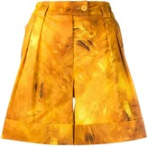 Moschino Fantasy print shorts