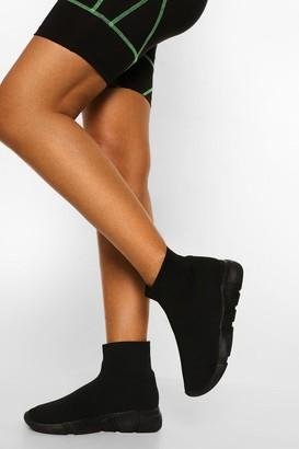boohoo Tonal Sock Trainer