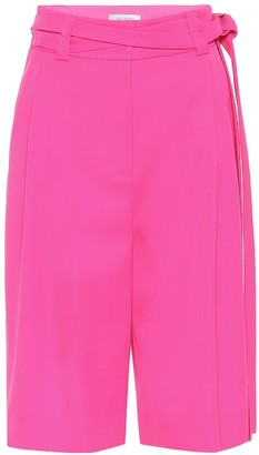 Valentino Virgin wool Bermuda shorts