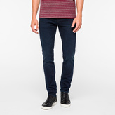 Paul Smith Men's Slim-Fit Over-Dyed Crosshatch Stretch-Denim Jeans