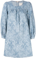 Marc Jacobs denim babydoll dress - women - Cotton - M