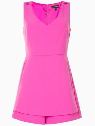 Emporio Armani Tailored Sleeveless Playsuit