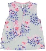 French Connection Kids Daisy Dream Top Print Crew Neck Sleeveless Floral