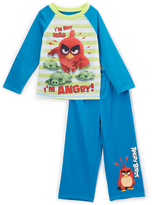 Komar Kids Blue & Green Angry Birds Pajama Set - Boys