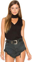 LnA Sleeveless Detached Turtleneck in Black. - size L (also in M,S,XS)