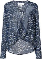 Derek Lam 10 Crosby sheer blouse