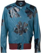 Oamc printed bomber jacket - men - Calf Leather - L