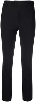 Isabel Marant Mid-Rise Slim-Cut Trousers