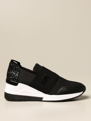 MICHAEL Michael Kors Sneakers In Mesh And Glitter