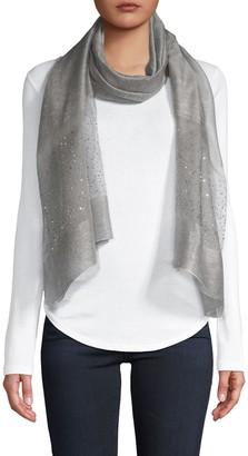 Saachi Silk & Wool-Blend Scarf