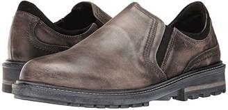 Naot Footwear Manyara (Vintage Gray Leather/Black Velvet Nubuck) Men's Shoes