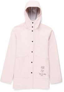 Herschel Ash Rose and Record Basquiat Womens Classic Rainwear Jacket - s