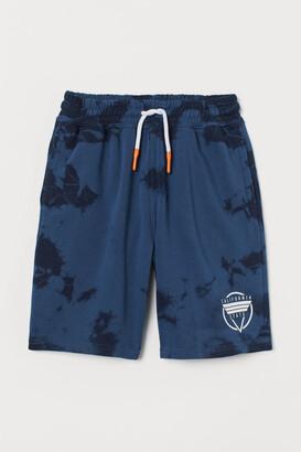 H&M Knee-length Shorts - Blue