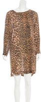 Zimmermann Leopard Print Shift Dress