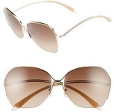 Victoria Beckham Fine Wave 61mm Sunglasses