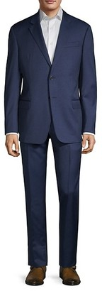 Emporio Armani G-Line Fit Textured Virgin-Wool Suit