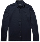 Tom Ford - Slim-fit Brushed Cotton-jersey Shirt
