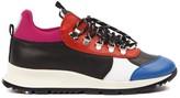 Philippe Model Black & Red Rossignol X Pm Veau Sneaker