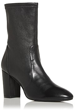 Stuart Weitzman Women's Yuliana High Block Heel Booties